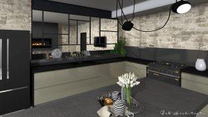 Une cuisine dans un Mas