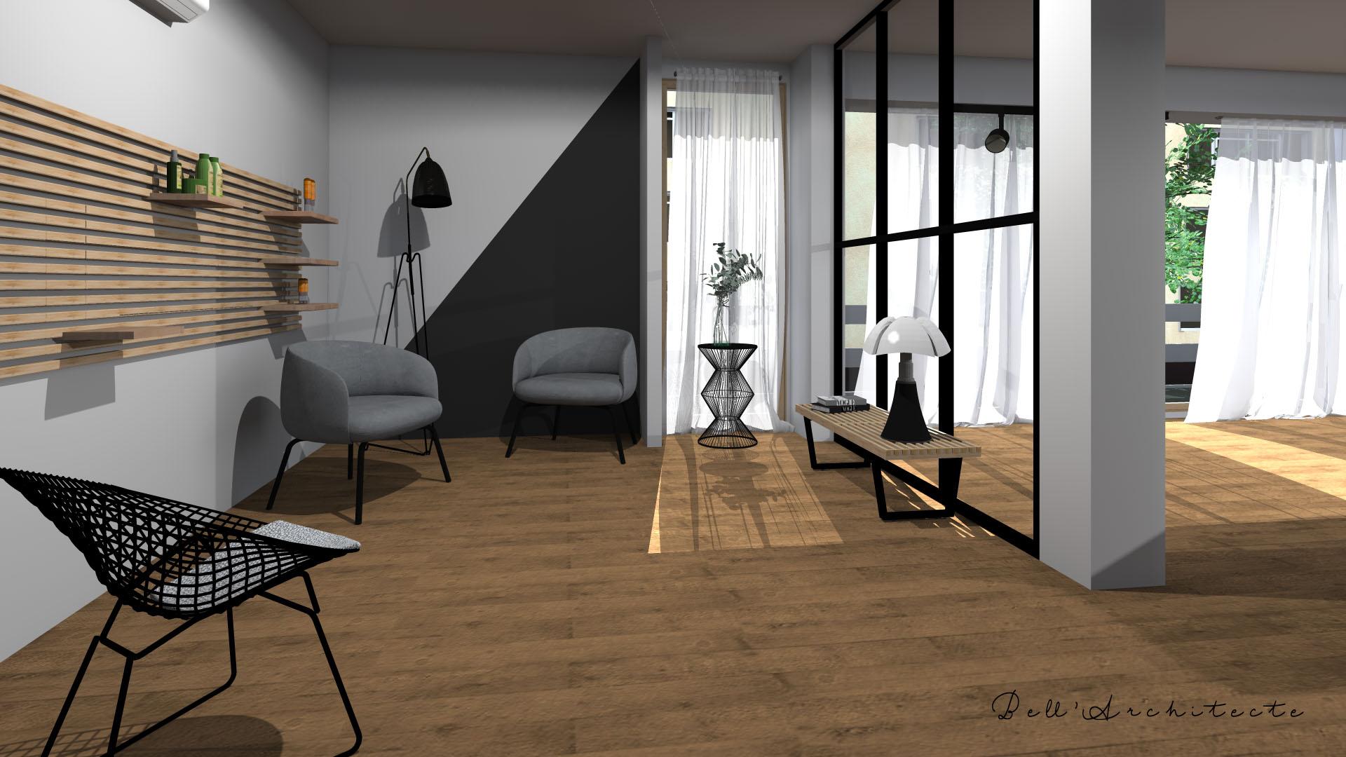 Rénovation d'un Salon de Coiffure